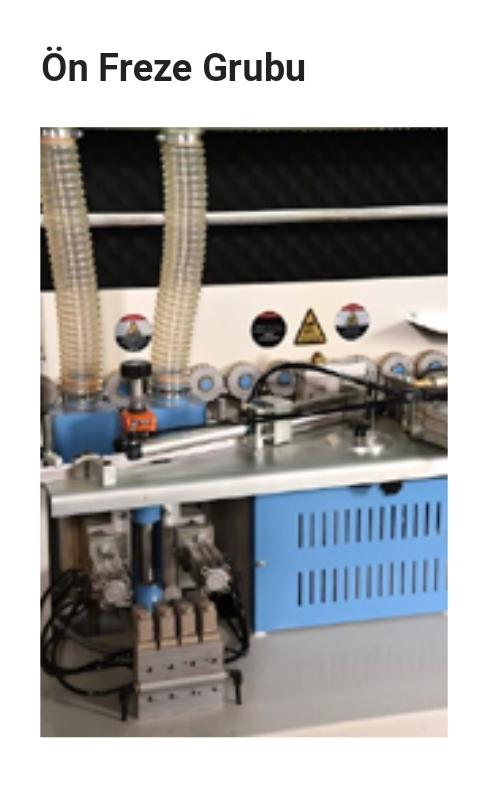 Klk pvc kenar yapıştırma makinasi servo motorlu