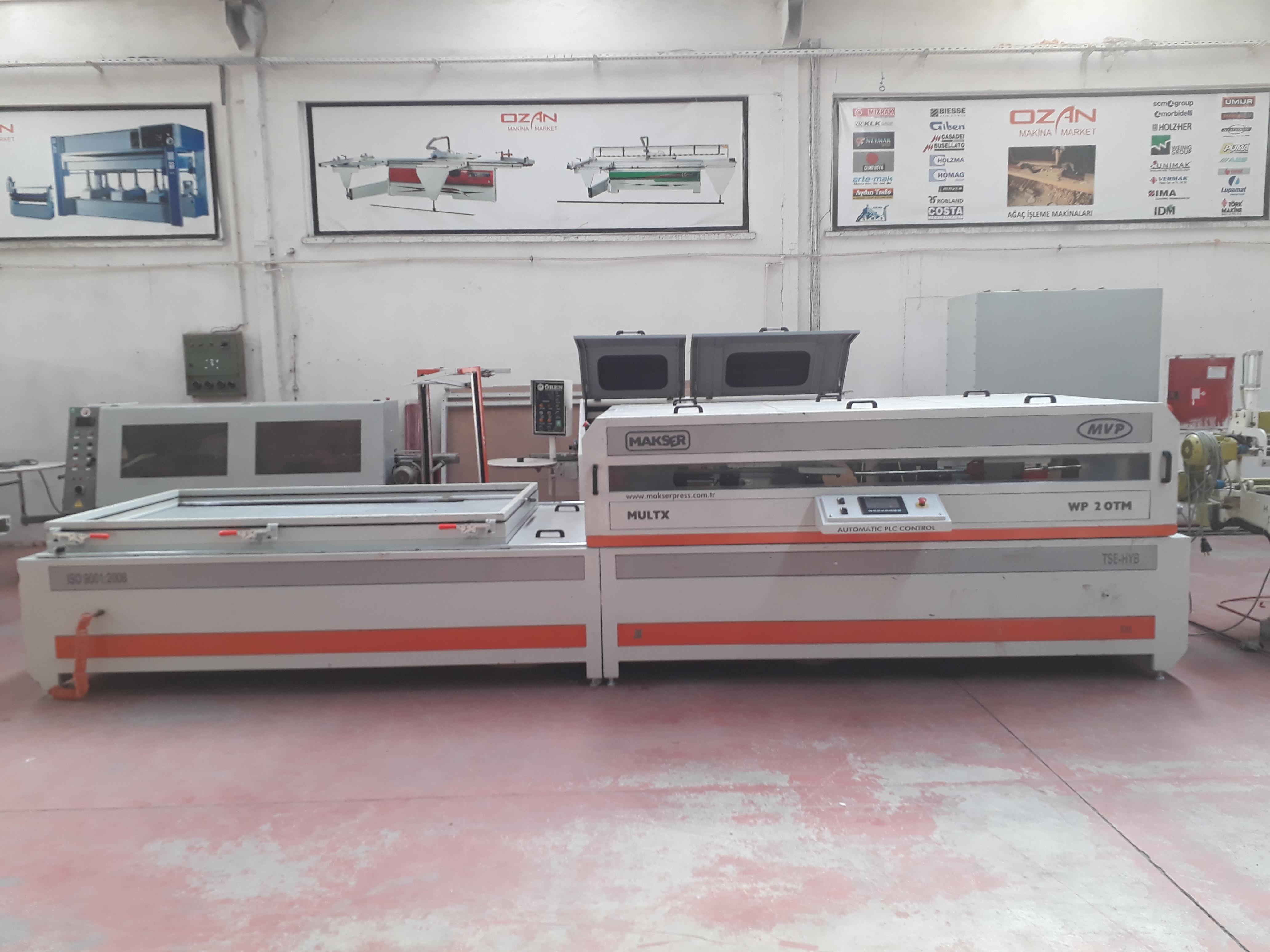 MAKSER 2 TABLE VACUUM MEMBRANE PRESS MACHINE