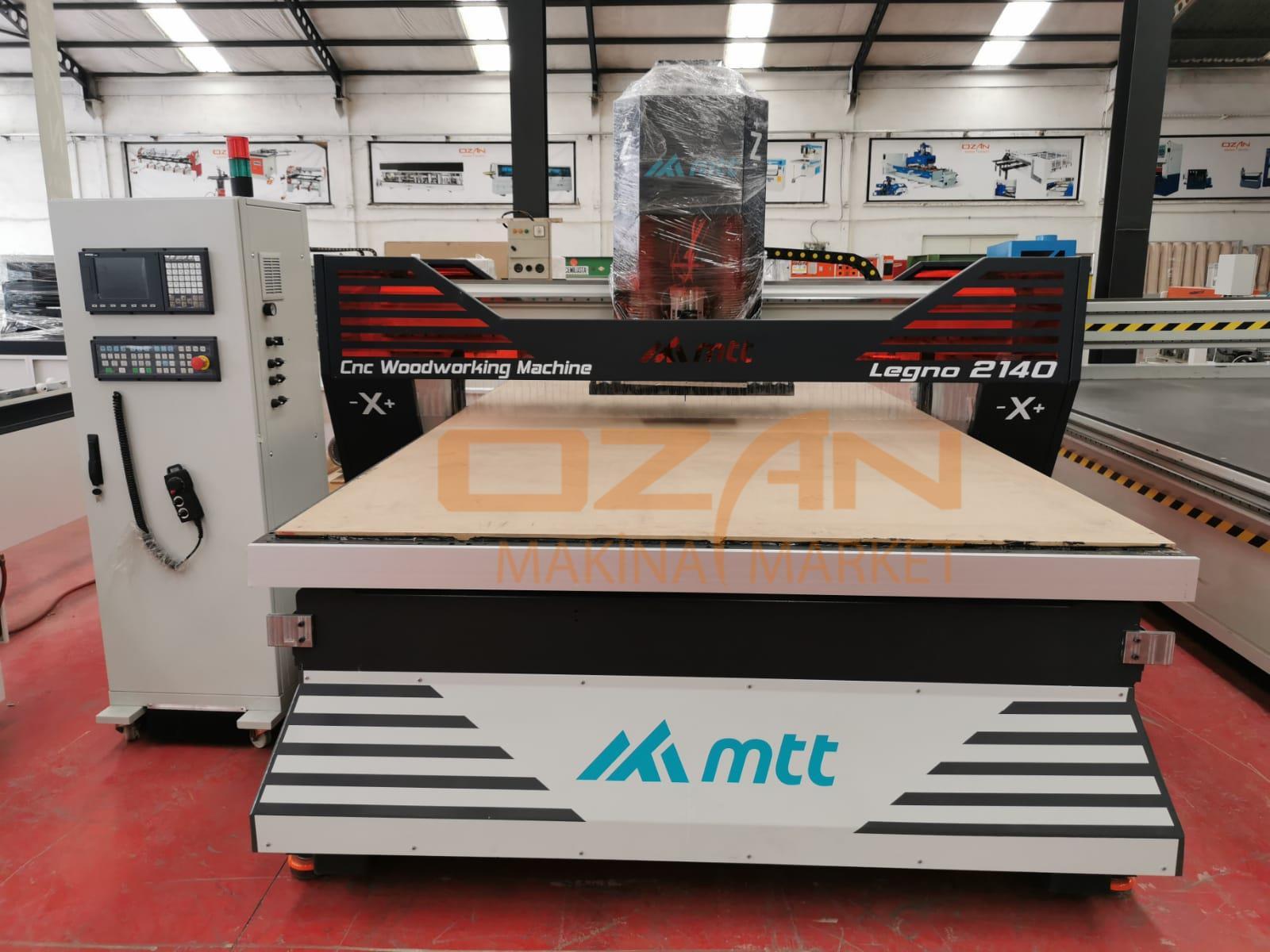 MTT LEGNO 2140 CNC MACHINE