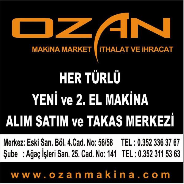 OZAN MAKİNA