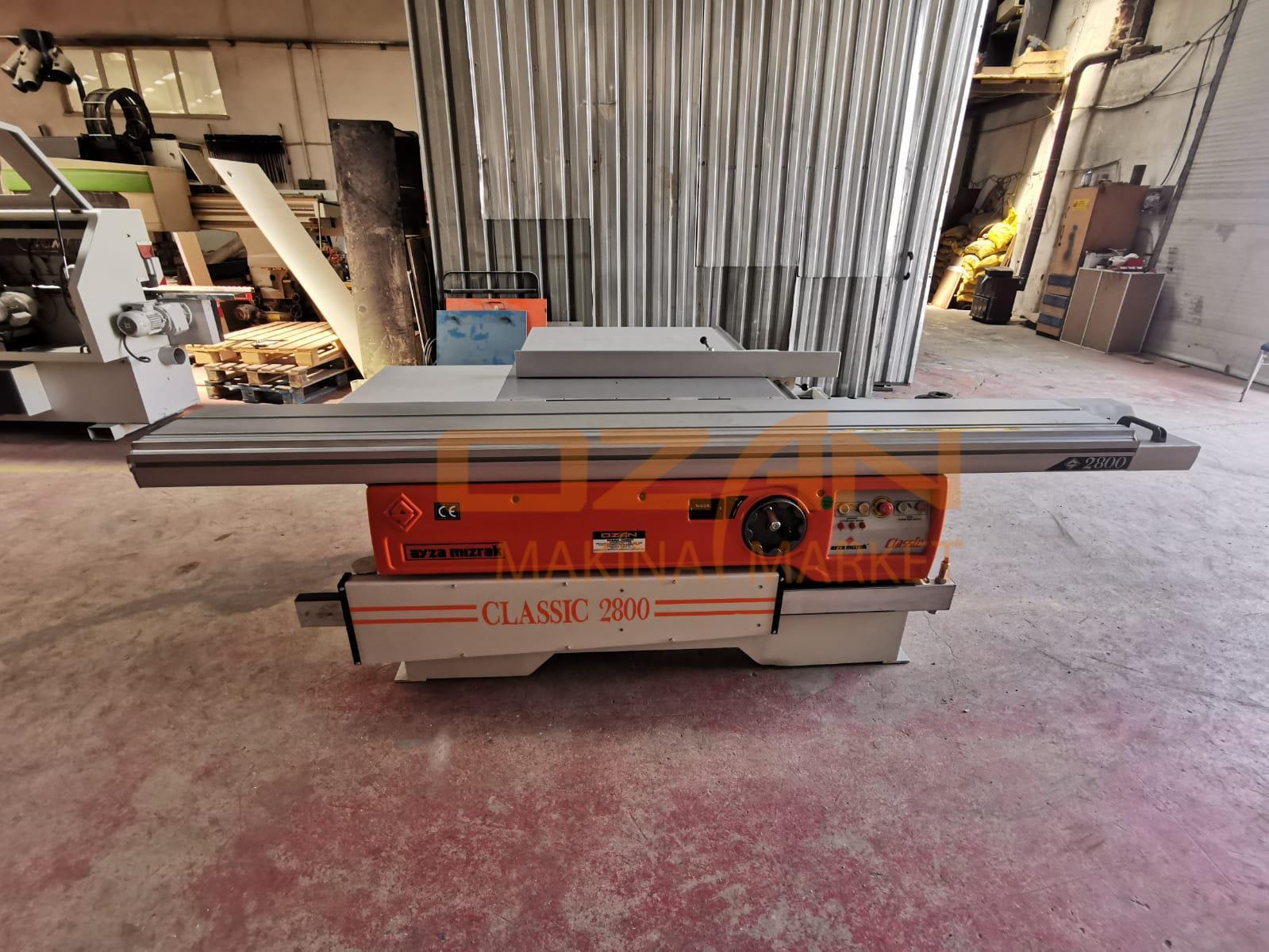 AYZA MIZRAK 2800 CLASSIC FLOATING MACHINE WITH SCRAPER